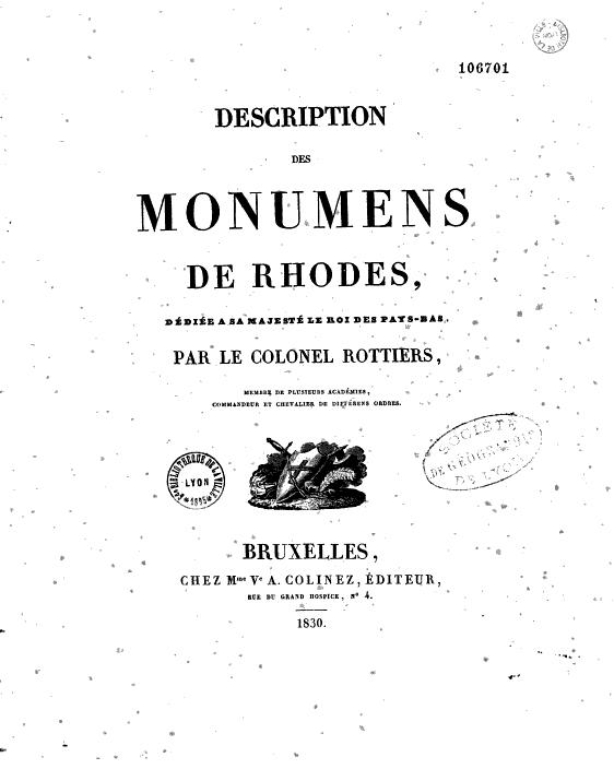 ROTTIERS, Bernard Eugène Antoine